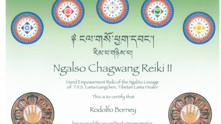 2 – Ngalso Chagwang Reiki II
