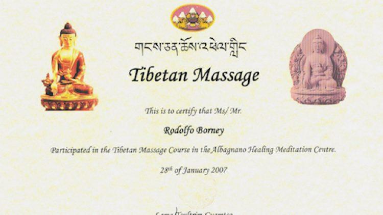 19 – Tibetan Massage